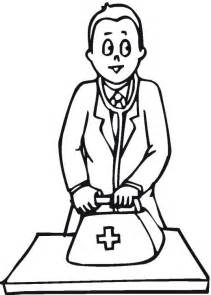 color doctor free coloring pages printable doctors coloring pages