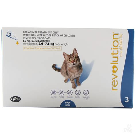 flea medicine revolution cat flea treatment at great prices
