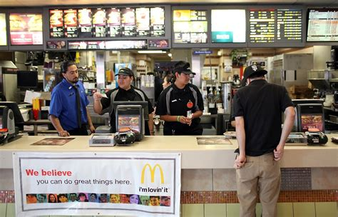 Mcdonald S Bathroom Attendant Mcdonald S And Wages Is The Company Planning To Replace
