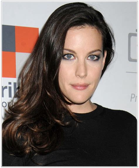 narrow female face liv tyler hairstyles for narrow face shapes