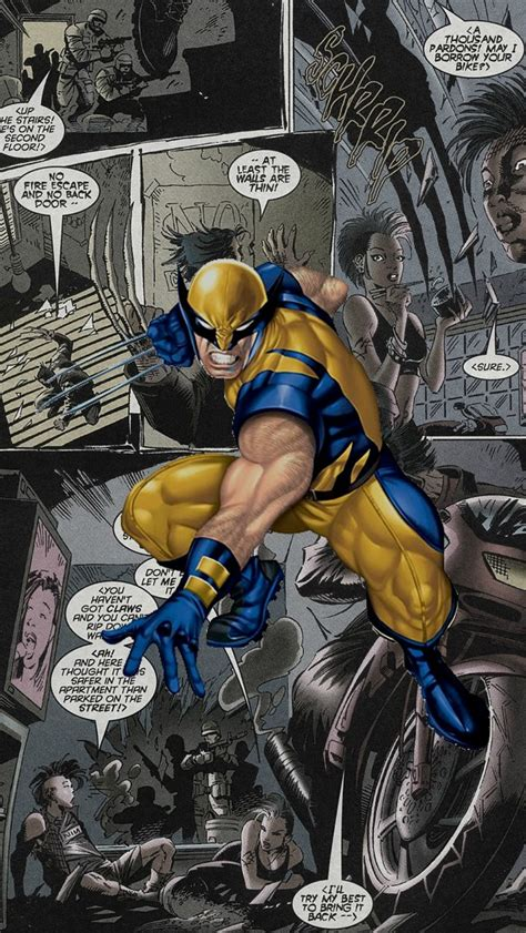 Wolverine Marvel Z2087 Iphone 7 wolverine comics the iphone wallpapers