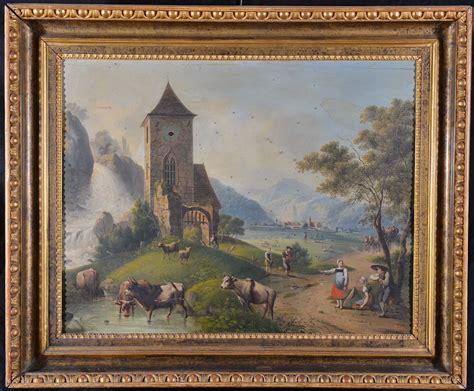 quadri classici con cornice quadro orologio con cornice a pastiglia dorata xix secolo