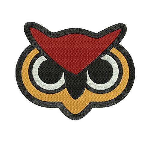 embroidery face owl animal embroidery design owl embroidery design