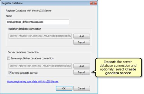 how to register a as a service register your data with arcgis server using arcgis desktop documentation arcgis