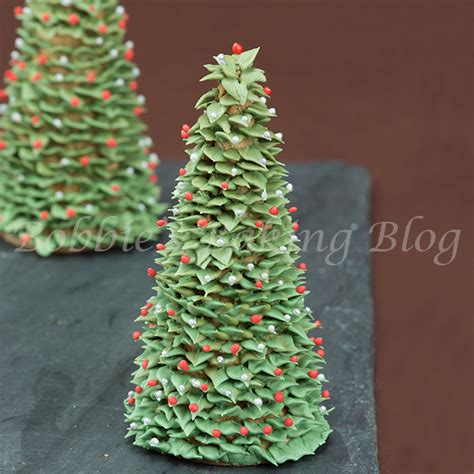 sugar christmas tree bobbies baking blog