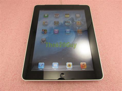 3g A1337 apple 1st a1337 mc496ll silver tablet 32gb 3g ac usb cable ebay