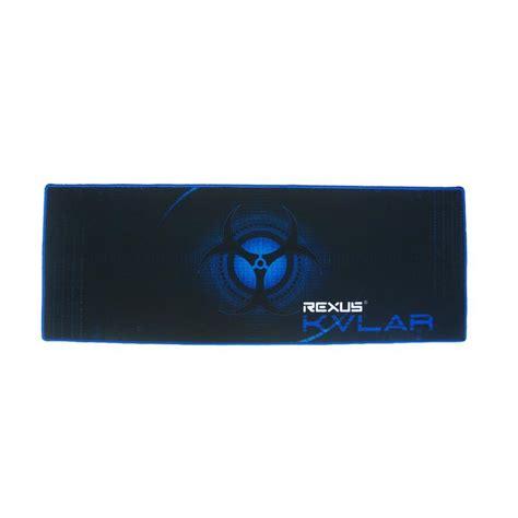 Mouse Pad Lebar jual rexus kvlar t1 gaming mouse pad hitam biru 80 x 30 x 0 3 cm harga kualitas
