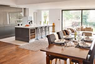 Kitchen Dinner Ideas Getting Creative The Open Plan Kitchen Dinner Buyers Guides Home Ideas