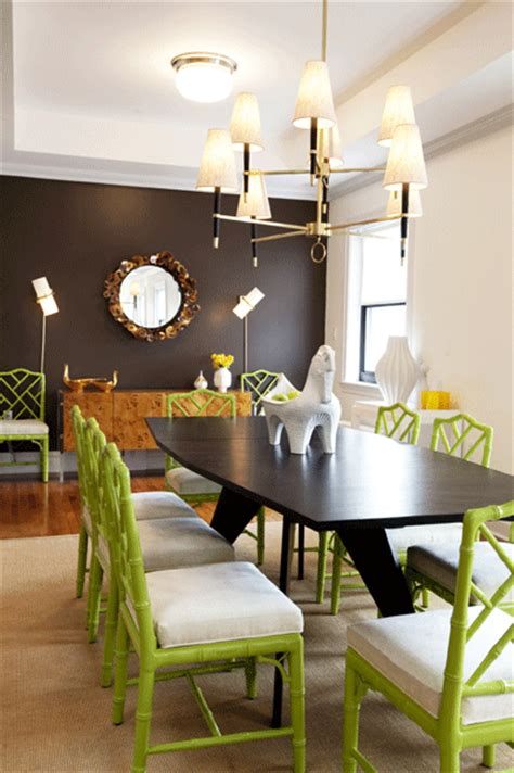 green dining chairs contemporary dining room z