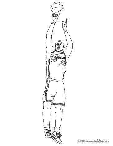 lebron james coloring pages lebron james coloring pages hellokids com
