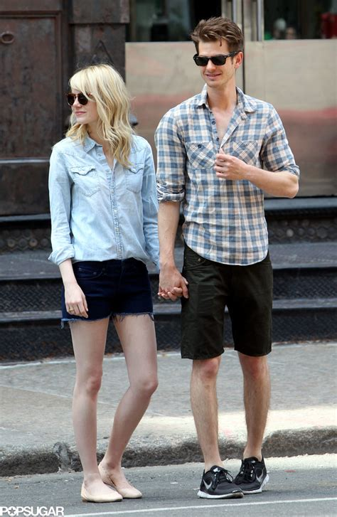 emma stone andrew garfield emma stone and andrew garfield holding hands pictures