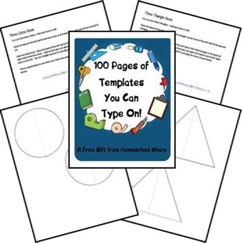 lapbook templates you can type on 100 pages of lapbook templates you can type on from
