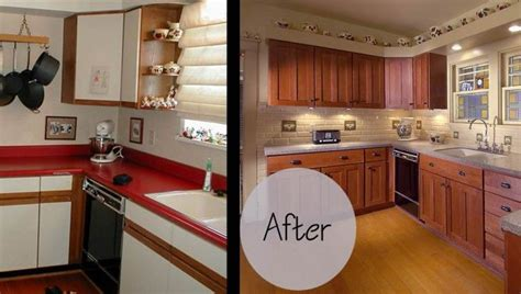 Refaced Kitchen Cabinets Before And After by Kitchen Cabinet Refacing Before And After Photos Cabinet