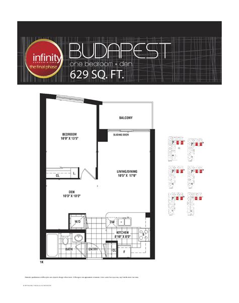 30 grand trunk floor plans budapest 629 infinity condos at 19 30 grand trunk cres