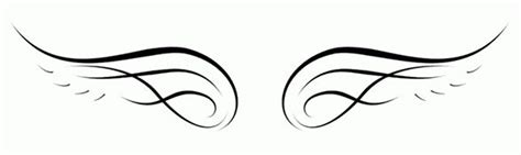 Simple Wing Outline by Simple Wings Outline Clipart Best