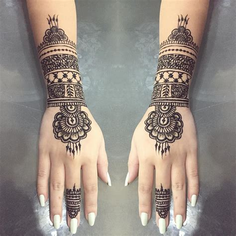 henna designs with meaning makedes