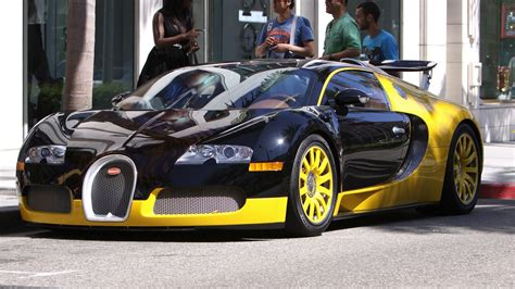 yellow bugatti 1920x1080 source mirror