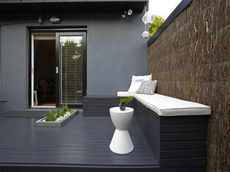 gray deck charcoal decking love this via http www desiretoinspire