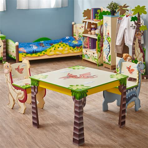dinosaur table and chair set fields dinosaur kingdom 3 table chair