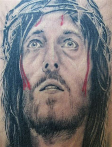 jesus thorn tattoo jesus tattoos and designs page 87