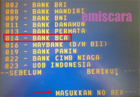 berapa lama membuat rekening bca bagaimana cara transfer uang via atm mandiri ke bca