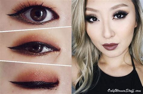 25 easy monolid eye makeup tips ideas with pictures