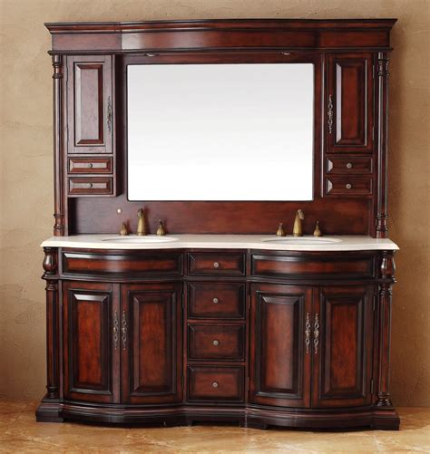 martin 72 quot marble top bathroom vanity w
