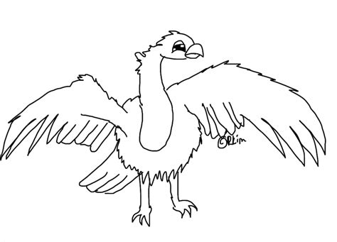 vulture coloring pages coloring home