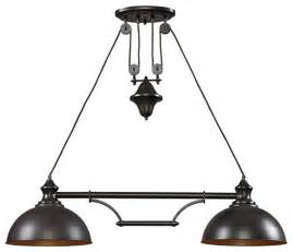 lighting island farmhouse 44 quot light fixture kitchen island lighting by
