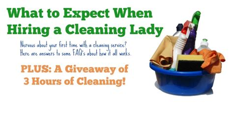 what to expect from a house cleaner what to expect when hiring a house cleaner