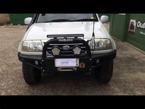 4wd Road 689 351 how to install replace front shock strut 2001 06 suzuki xl