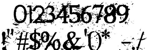 rugged type rugged type font