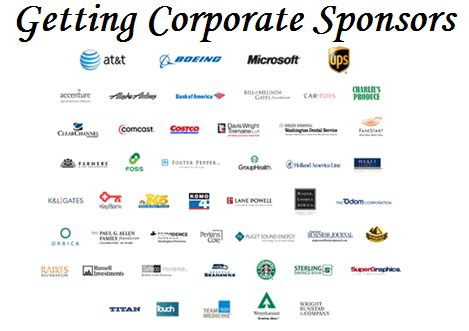 Companies That Sponsor Harvard Mba fundraising event tips getting corporate sponsors