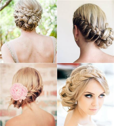 Simple Wedding Hairstyles With Braids by Wedding Hairstyles Looks Wedding Updos 2015 Vpfashion