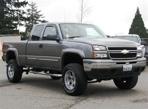 inexpensive ls for sale lifted truck chevrolet silverado 1500 ls extended cab 06