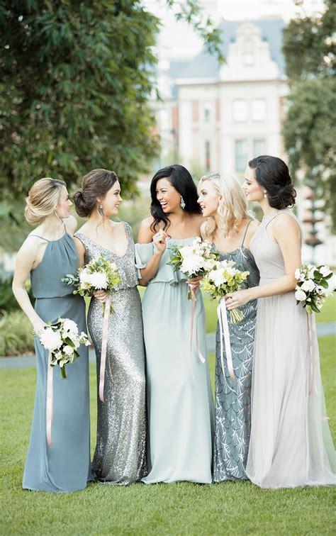 gold sequin bridesmaid dress sorella vita bridesmaid gowns