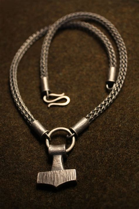 thor s hammer necklace by waldgeist86 viking 20