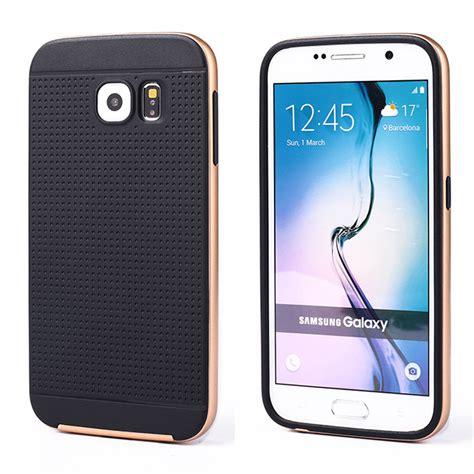 Samsung Iron wholesale samsung galaxy s6 edge iron bumper hybrid chagne gold