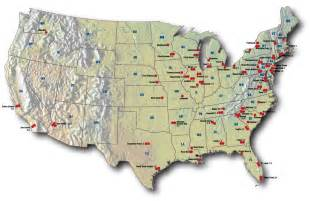 nuclear plants in map nuclear power in the usa world nuclear association
