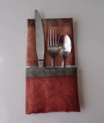 how to fold napkins to hold silverware lovetoknow