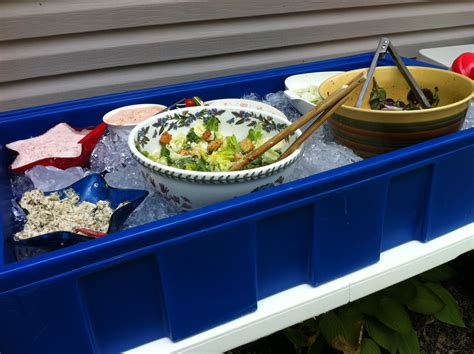 keeping food cool at bbq s the happy housewife cooking