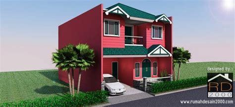 desain rumah unik di pulo asem rumah desain 2000