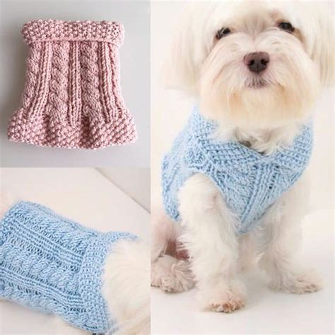 knitting pattern dog coat easy dog diy knitting cute little dog sweaters for charity