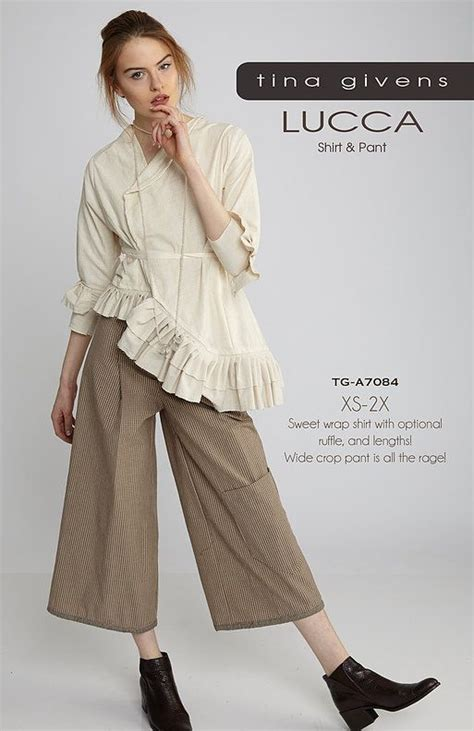Luca Top lucca top and pant tina givens patterns pao tried to