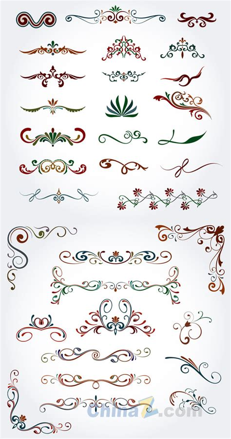 color pattern vector free download color decorative pattern vector download free vector