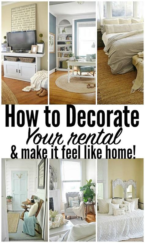 decorating a rental home feel like how to make your and make your on pinterest