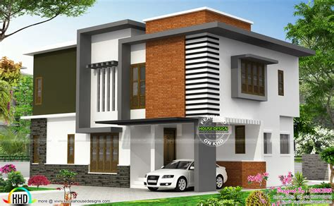 contemporary house design october 2015 kerala home design and floor plans