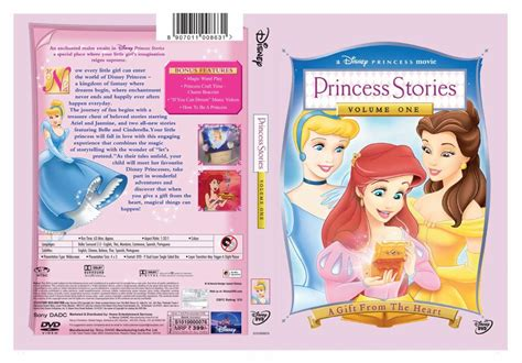 Disney Dvd Princess Stories Vol 2 disneys princess stories volumes 1 2 3 boxset in xvid by