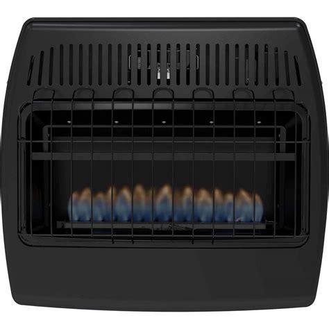 Garage Heaters Gas Ventless by Dyna Glo Gbf30dtdg 1 30 000 Btu Blue Dual Fuel Vent