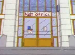 springfield post office simpsons wiki